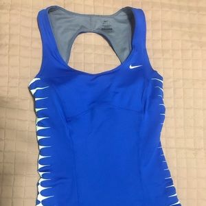 Nike Dri-Fit active top (with built-in bra)